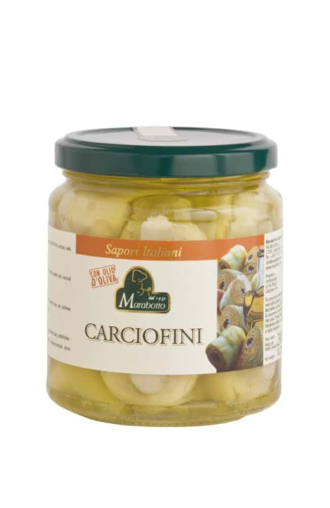 Artichokes in olive oil