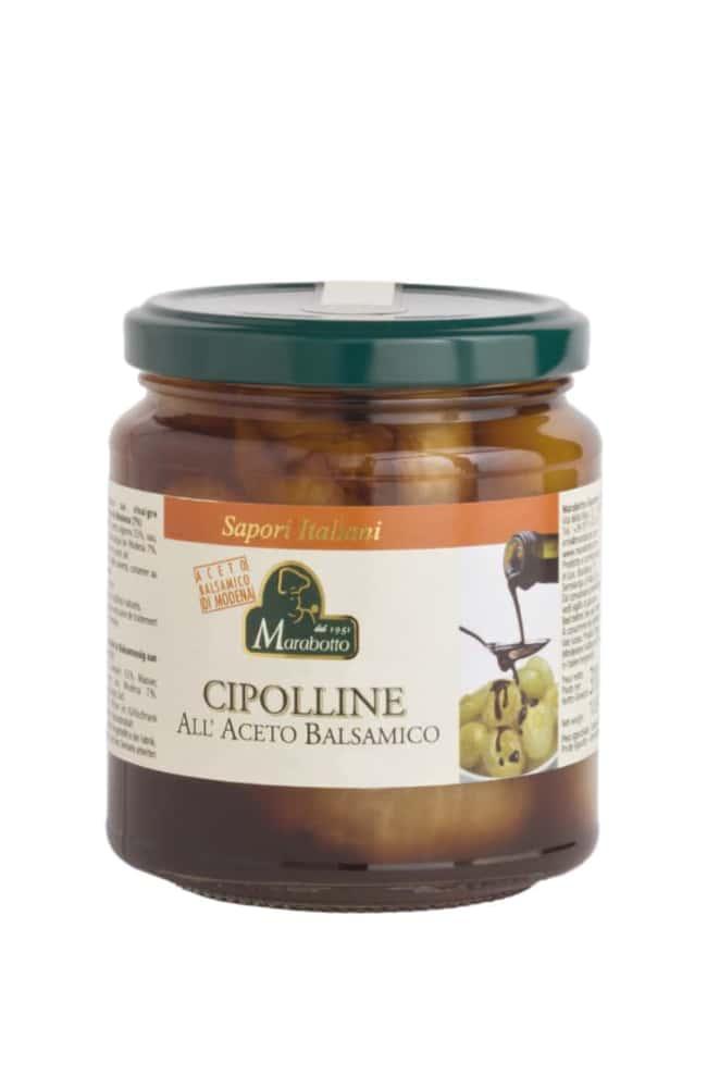 Onions in balsamic vinegar of Modena