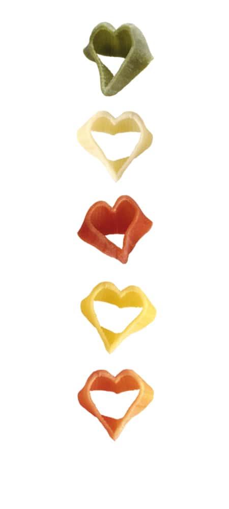 Multi-Geschmack Herzchen