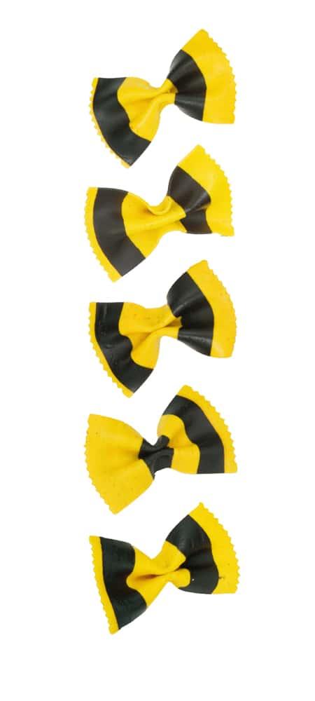 Gelb-Schwarze Farfalle