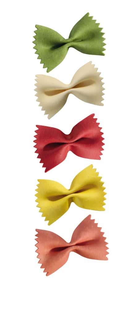 Multi-Geschmack Farfalloni