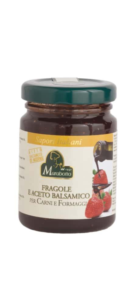 Fragole e aceto balsamico di Modena IGP
