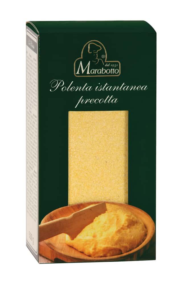 Precooked polenta