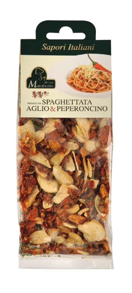 Preparato per spaghettata aglio e peperoncino