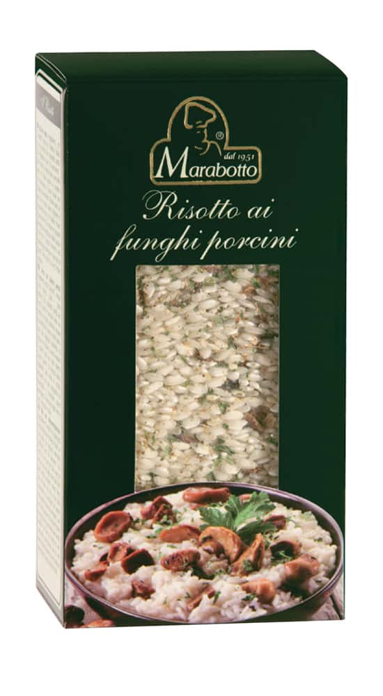 Rice with porcini mushrooms