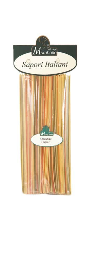 Mehrfarbig Spaghetti