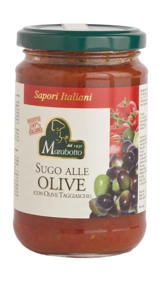 Sugo alle olive taggiasche
